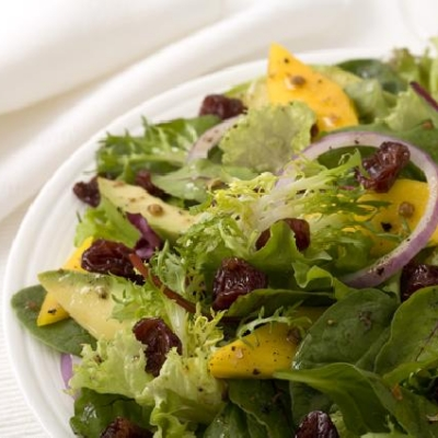 Mango Cherry Avocado Salad