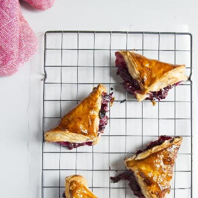 Easy Coronation Grape Turnover