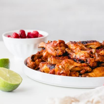 Instant Pot Montmorency Tart Cherry Chicken Wings
