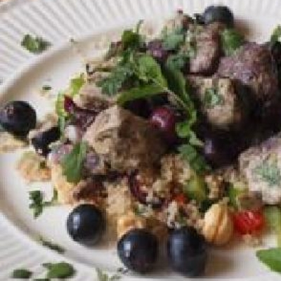 Moroccan Coronation Grape Couscous