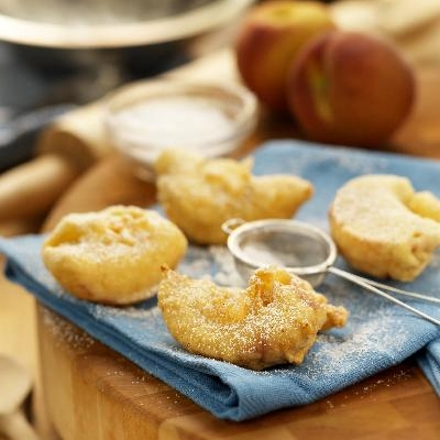 Ontario Peach Fritters