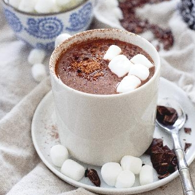Tart Cherry Hot Chocolate