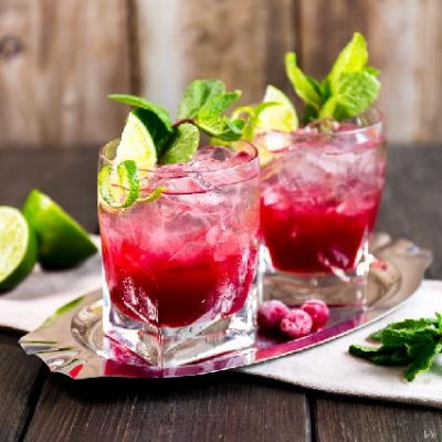 Tart Cherry Mojitos