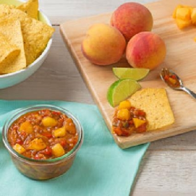 FREEZER PEACH SALSA
